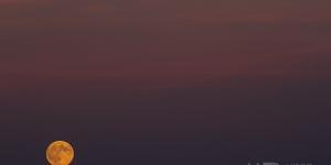 Sunset moon……..
